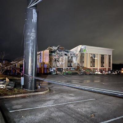 Un muerto y varios heridos por un tornado en Alabama