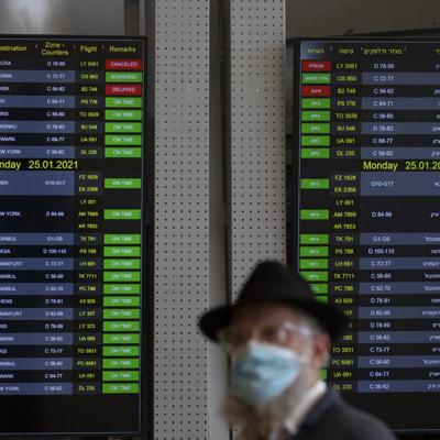 Israel cierra aeropuertos debido a coronavirus