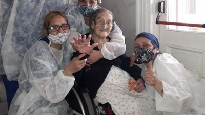 Anciana de 109 años sobrevive al coronavirus