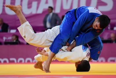 El judoca Adrián Gandía
