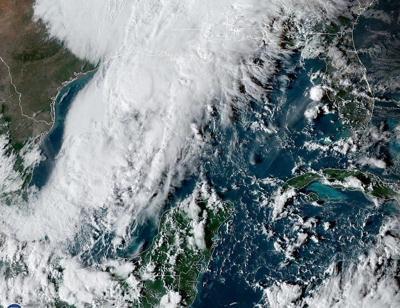 Se forma la tormenta tropical Olga en el Golfo de México