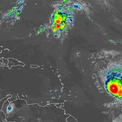El huracán Sam continúa con vientos de 145 millas por hora