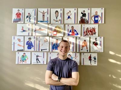 Exalta a los atletas boricuas mediante trazos olímpicos
