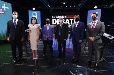 El Gran Debate, candidatos a la gobernación