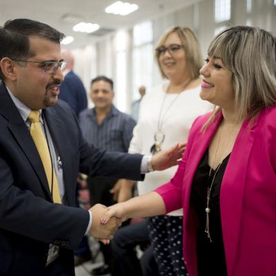 Viva la candidatura de Keren Riquelme a vacante en el Senado