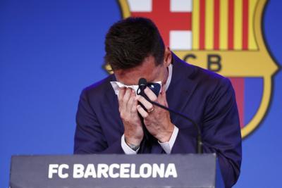 Vídeo: Lionel Messi dice que no estaba listo para abandonar el Barcelona