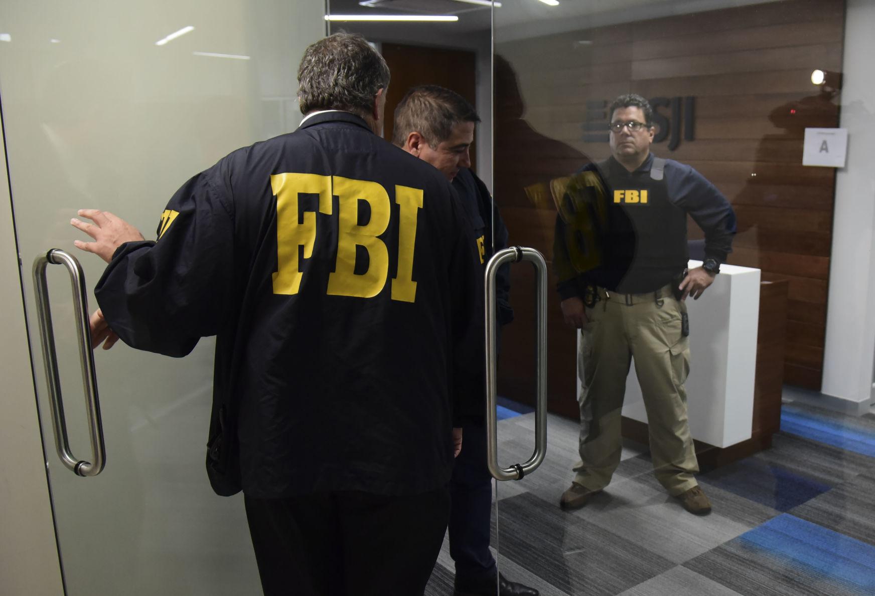 Knock, knock… FBI