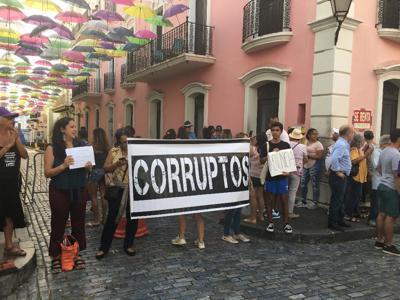 Protesta en La Fortaleza