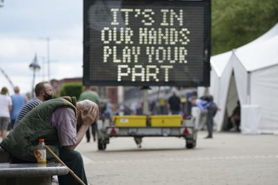 Gran Bretaña registra su cifra más alta de casos de covid-19 desde febrero