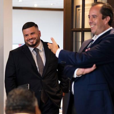 Jay Fonseca y Rafael Lenin Lopez