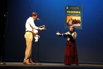 Antología teatral sobre la pandemia