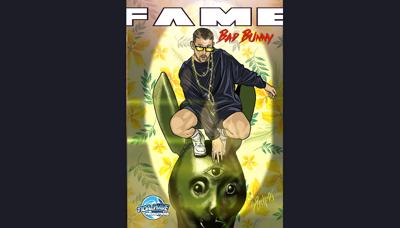 Bad Bunny inspira a los artistas del mundo de los cómics