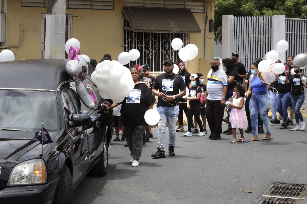 Zay Rodriguez's funeral