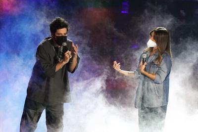"""Artistas ensayan para unos Latin Grammy """"históricos"""""""