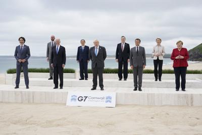 G7 donará 1,000 millones de vacunas a los países pobres
