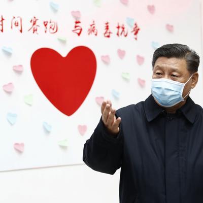 Presidente de China pide más esfuerzos contra el coronavirus