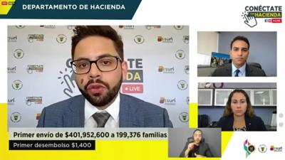 """Hacienda aclara """"leyendas urbanas"""" sobre cheques de estímulo"""