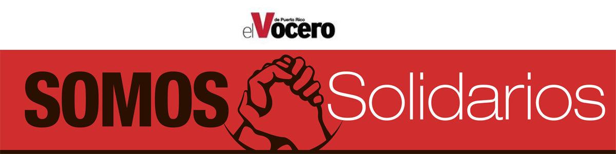 Mi Pueblo se levanta Somos solidarios