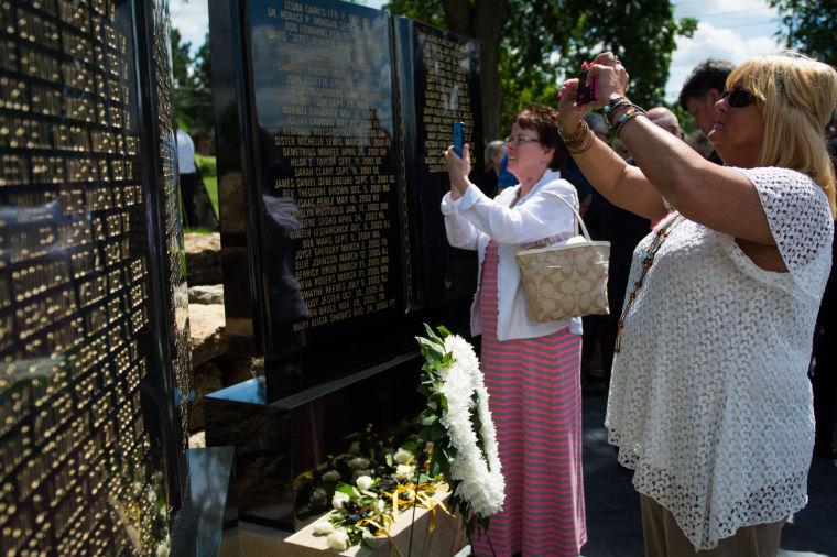 Fallen Teachers Memorial Dedication