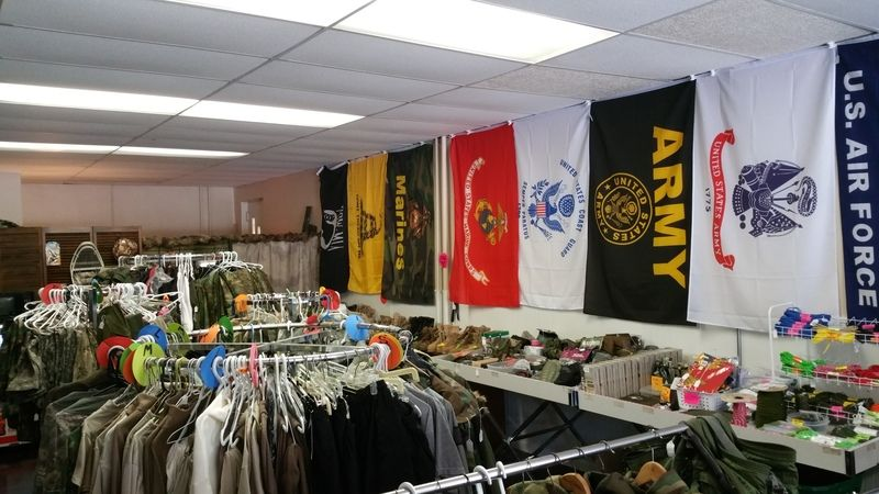Couple brings military surplus to downtown Emporia | Business