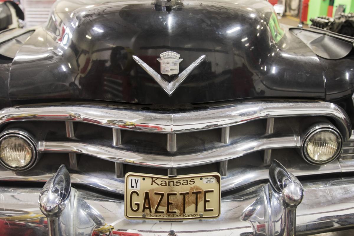 Gazette license plate