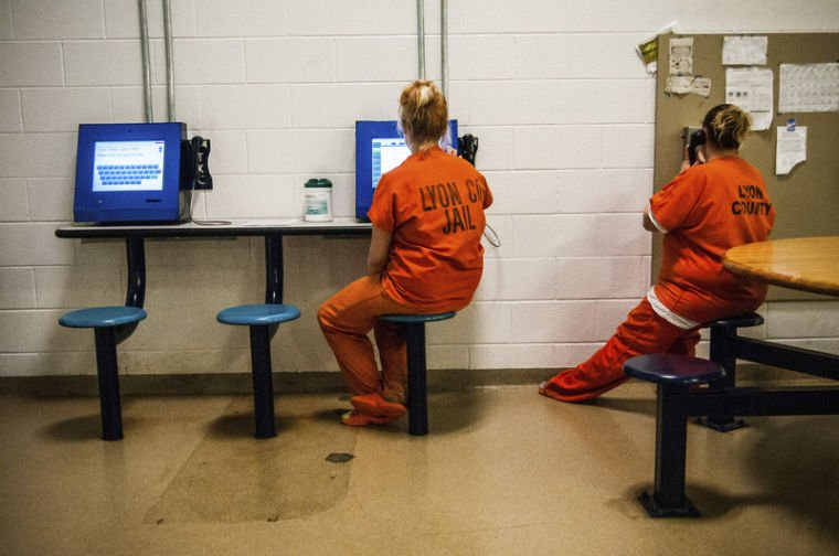 Jail implements video visitation | News | emporiagazette com
