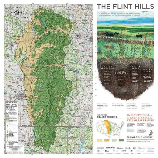 Flint Hills Maps Available For Purchase News