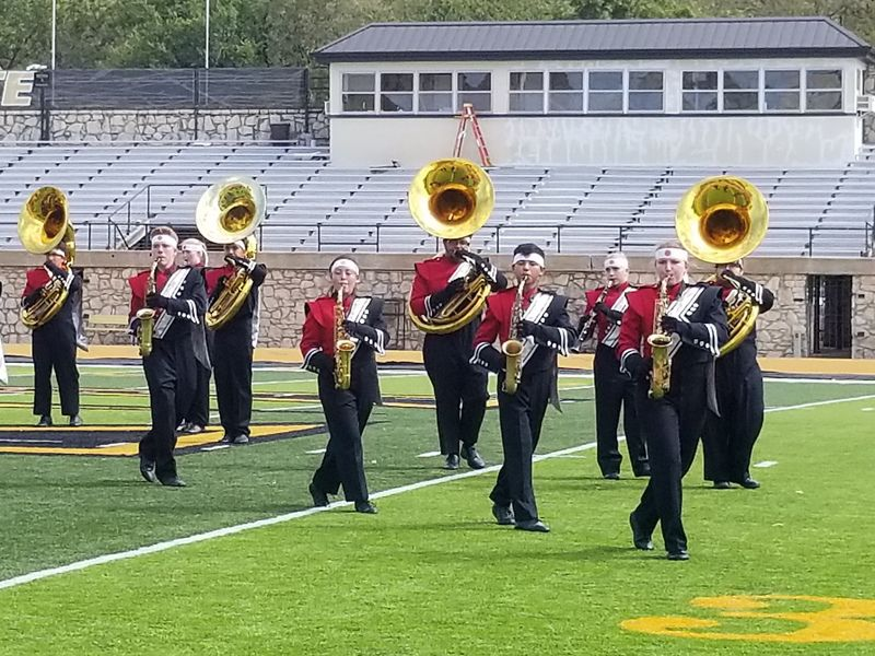 100418 marching EHS 2