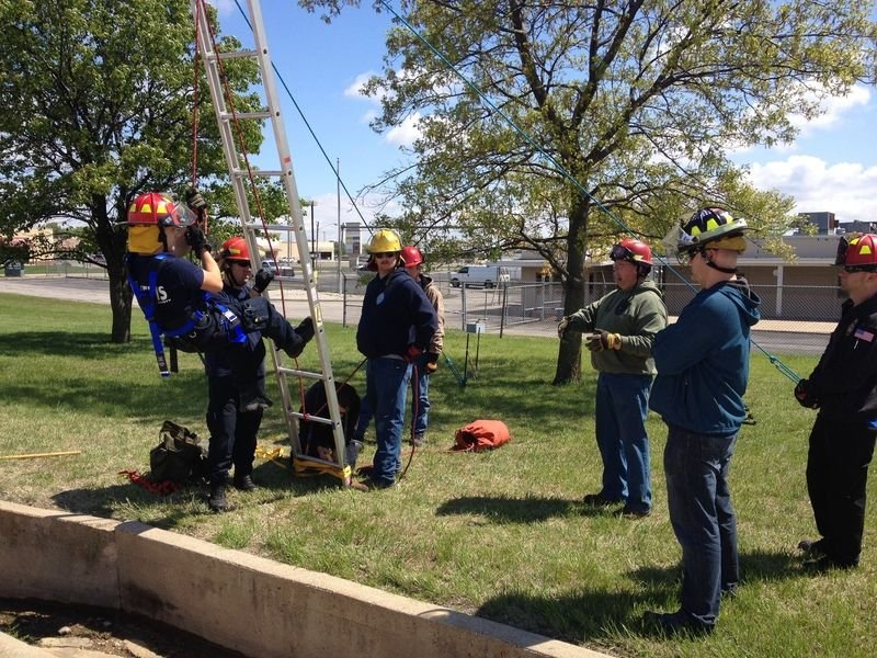 Training helps prepare first responders
