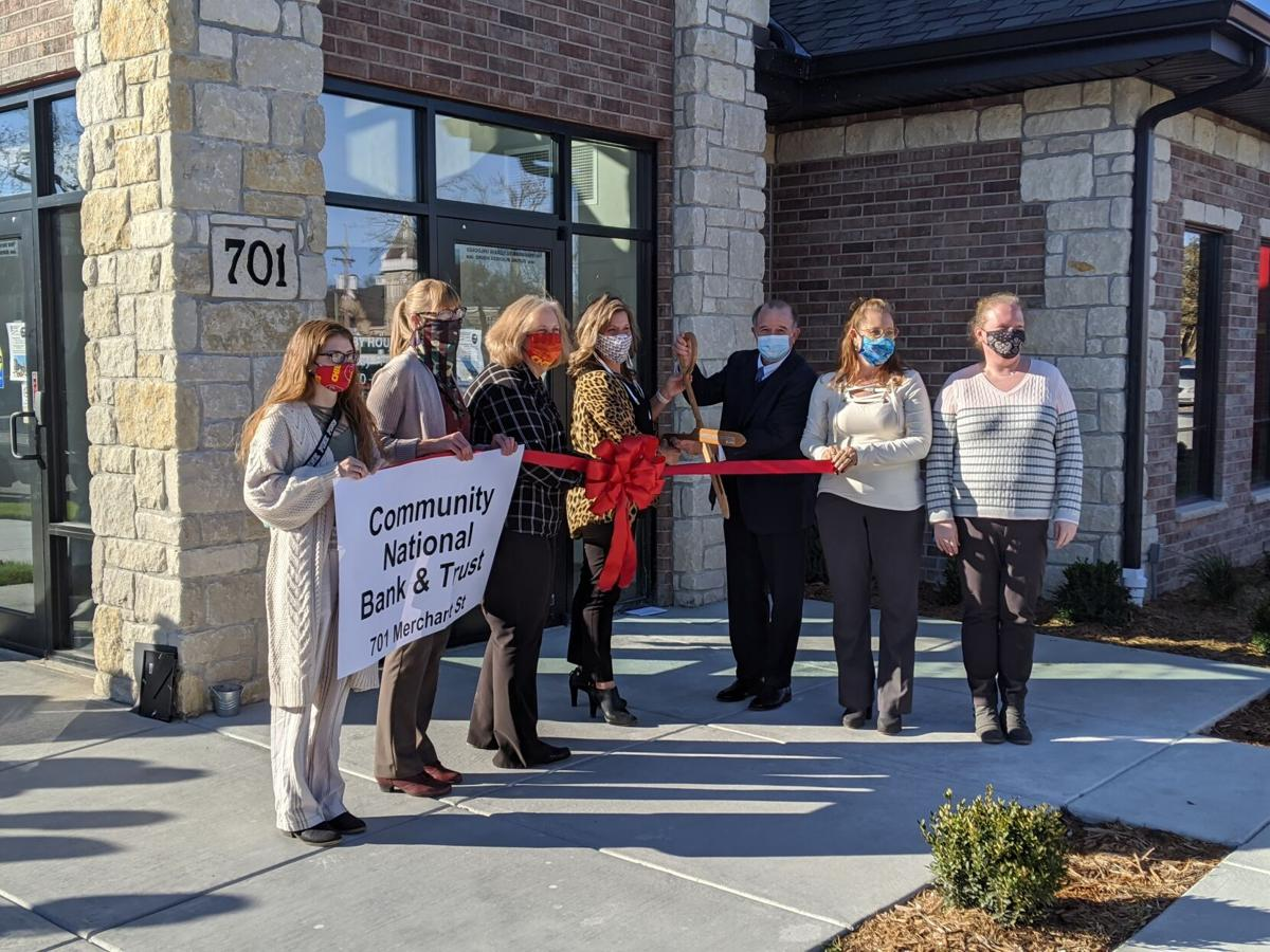 Perpetual Motion: Community National Bank & Trust celebrates growth with ribbon cutting