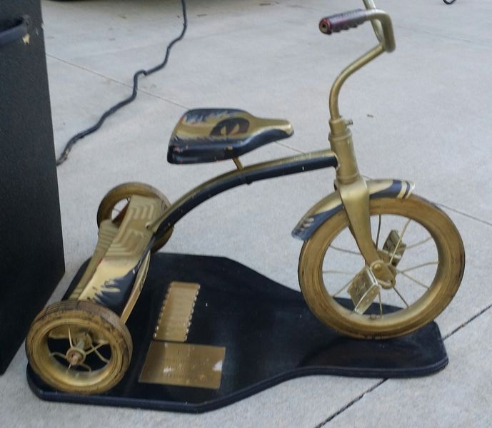 Image result for tricycle trophy