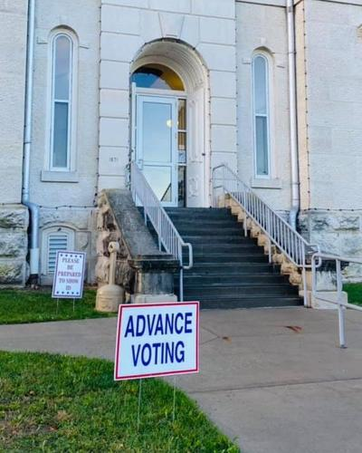 Chase County advance voting