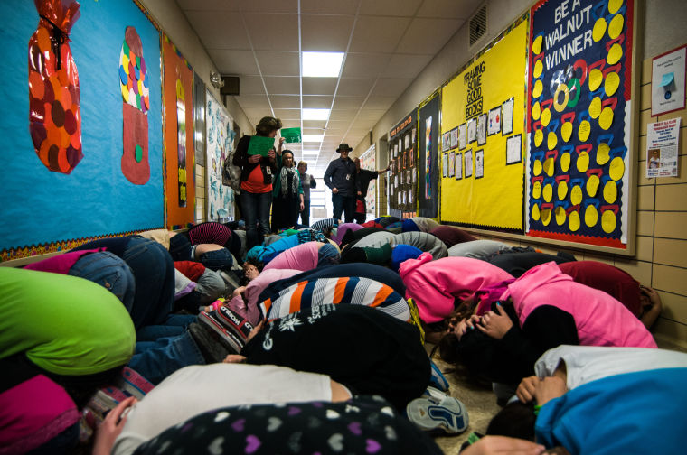 Students Practice Tornado Response Featured