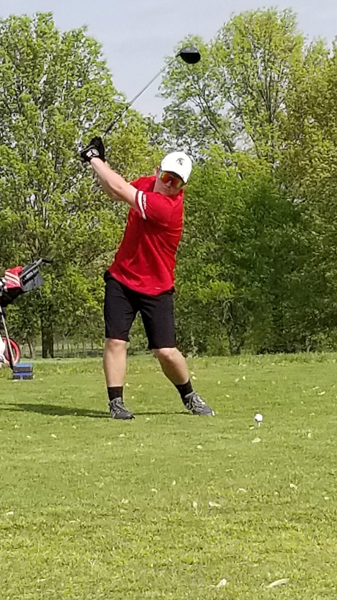 Alex Allemang EHS golf