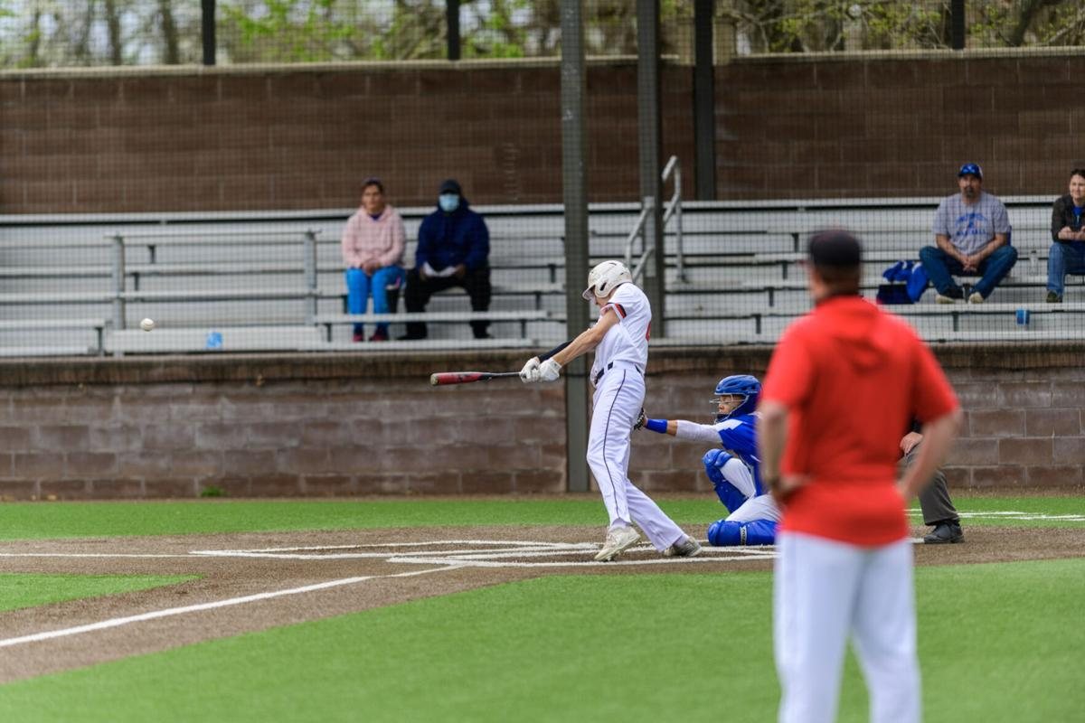 Ethan Garate Emporia High Baseball versus Junction City