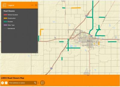 Interactive Road Closure map | Free | emporiagazette com