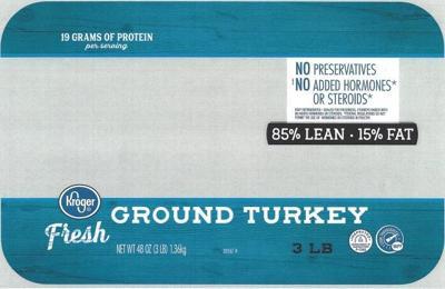 Kroger ground turkey package