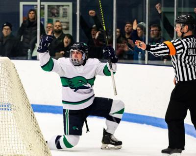 Freshman Forward Zach Mazur (11)
