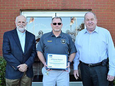 Life Saver Award photo