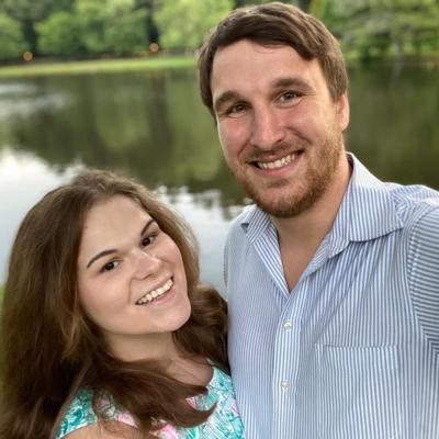 Engagement announcement photo