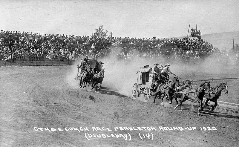 p.130: 1922 Stage Coach Race