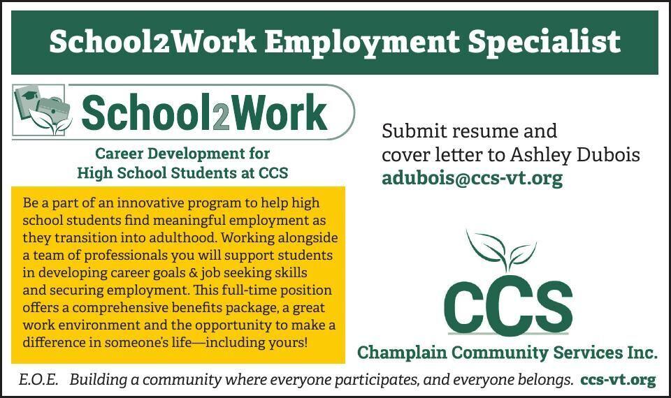 School2Work Employment Specialist
