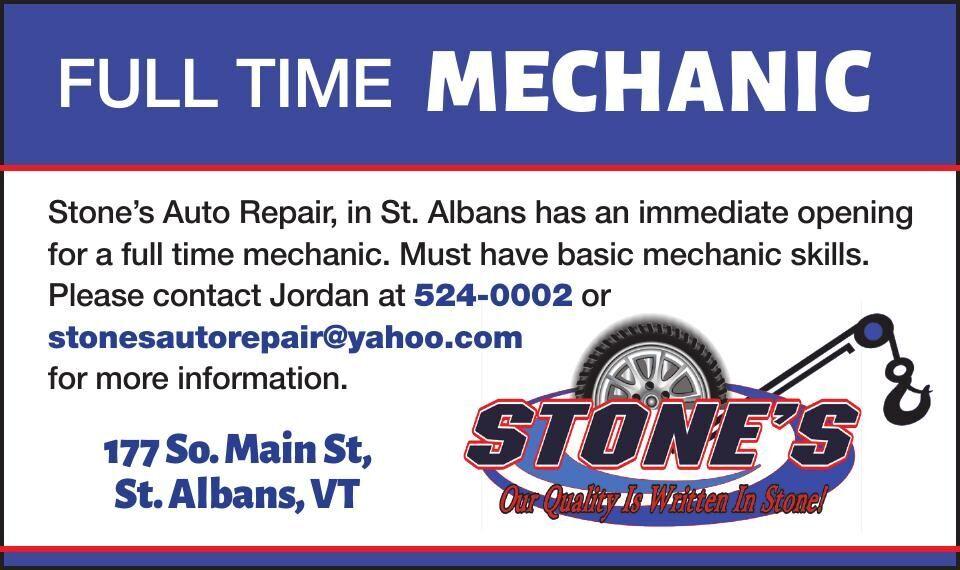 Full Time Mechanic