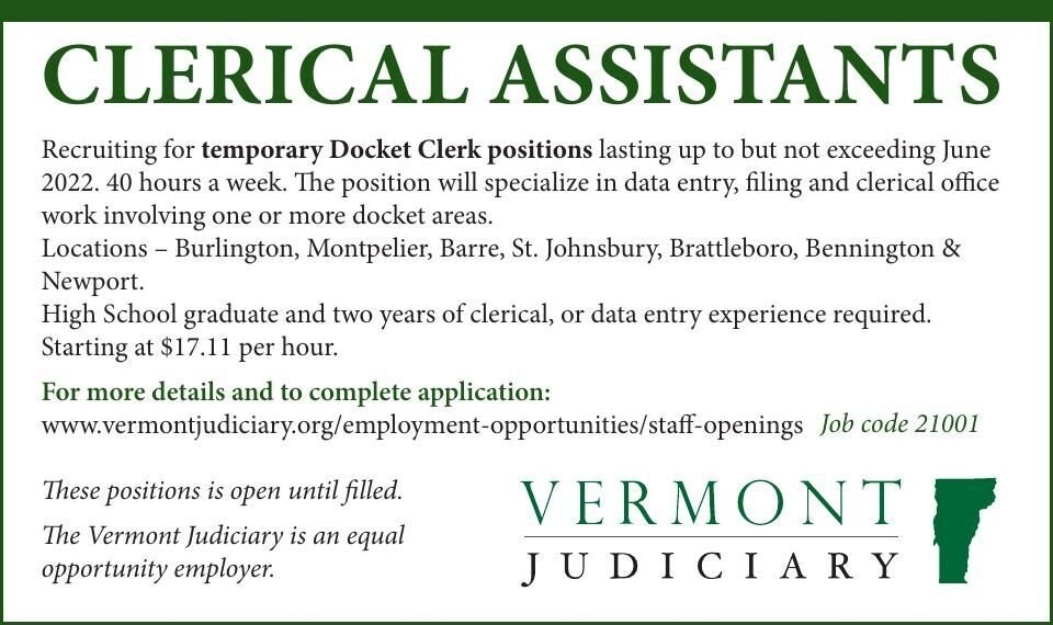 CLERICAL ASSISTANTS