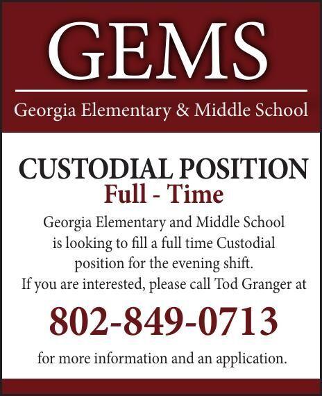 Georgia Elementary School is Hiring!