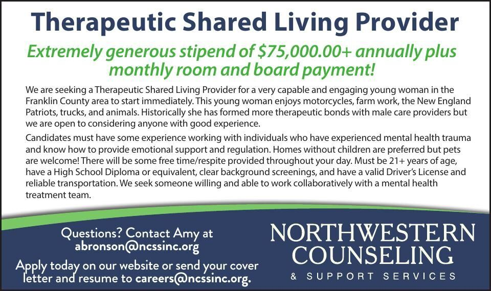 Therapeutic Shared Living Provider