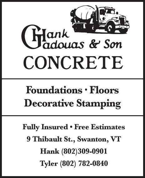 Hank Gadouas Concrete