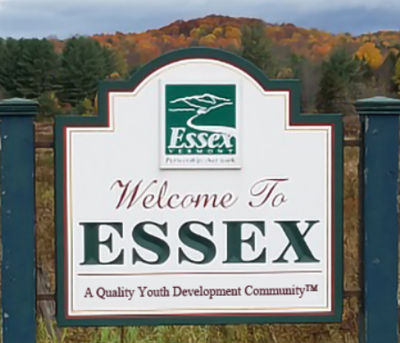 Essex welcome sign