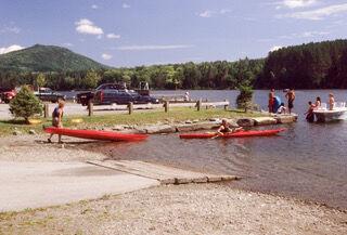 Marshfield Reservoir Launch