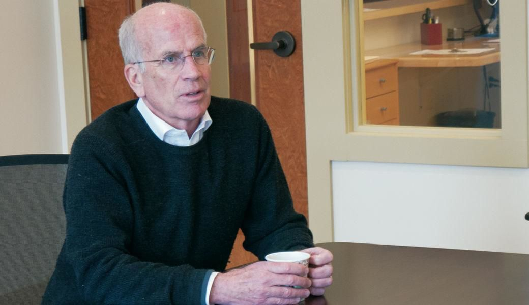 Rep. Peter Welch, D - Vt., meets with St. Albans City officials, 2-5-2018